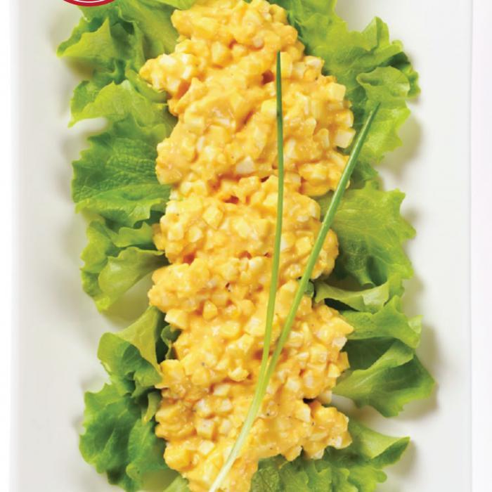 egg salad lettuce wraps